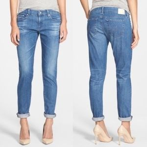 AG The Nikki Relaxed Skinny Medium Wash Jeans 25